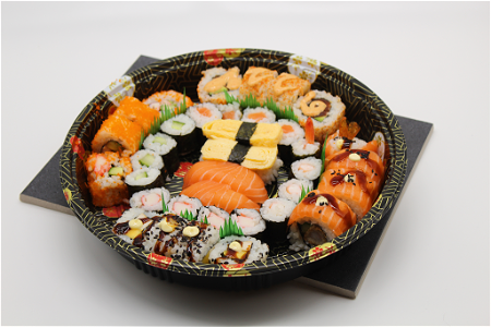 Foto Party Sushi Box Small 36 stuks